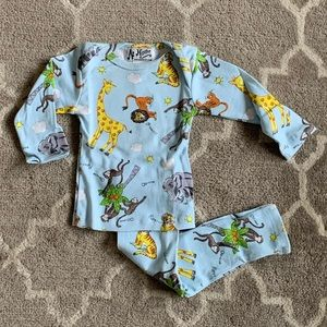 NWT 'wild animals' At Home Pajama set